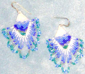 Cosmic Sea Earrings