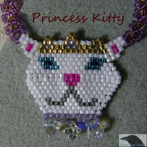 Princess Kitty Necklace