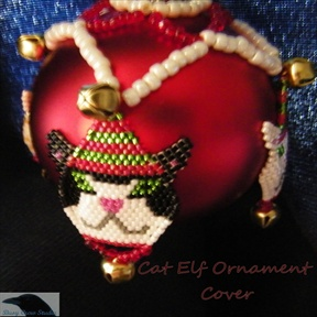 Cat Elf Ornament Cover