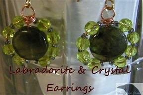 Round Sparkle Earrings