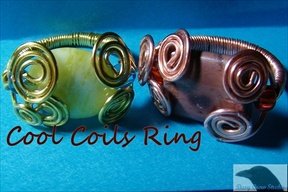 Cool Coils Ring