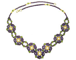 Crocus Garden Necklace