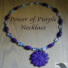 Power of Purple Necklace