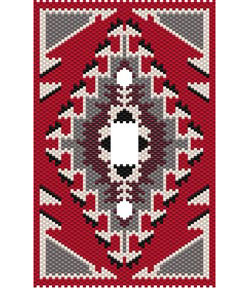 NAVAJO RUG SOUTHWEST SWITCHPLATE COVER