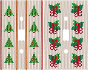 DUET 4 HOLIDAY SWITCHPLATE COVERS