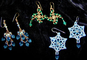 Trio of Earrings Collection