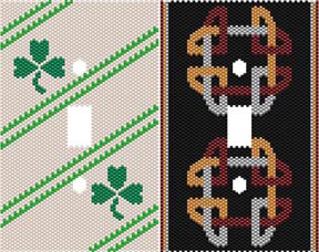 DUET 10 CELTIC SWITCHPLATE COVERS