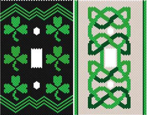 DUET 8 CELTIC SWITCHPLATE COVERS