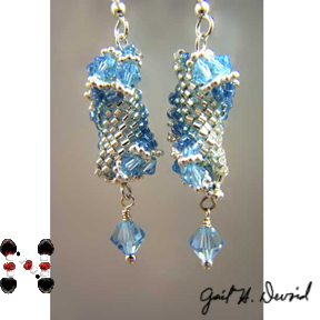 Dutch Spiral Earrings #241