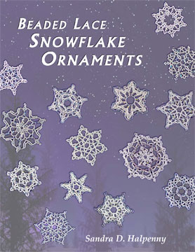 Beaded Lace Snowflake Ornaments (e-Book)
