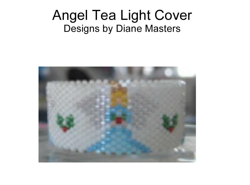 Angel Tea Light Cover
