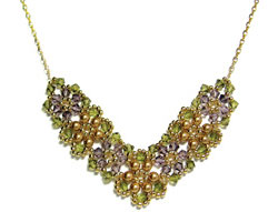 Crystal Posy Necklace