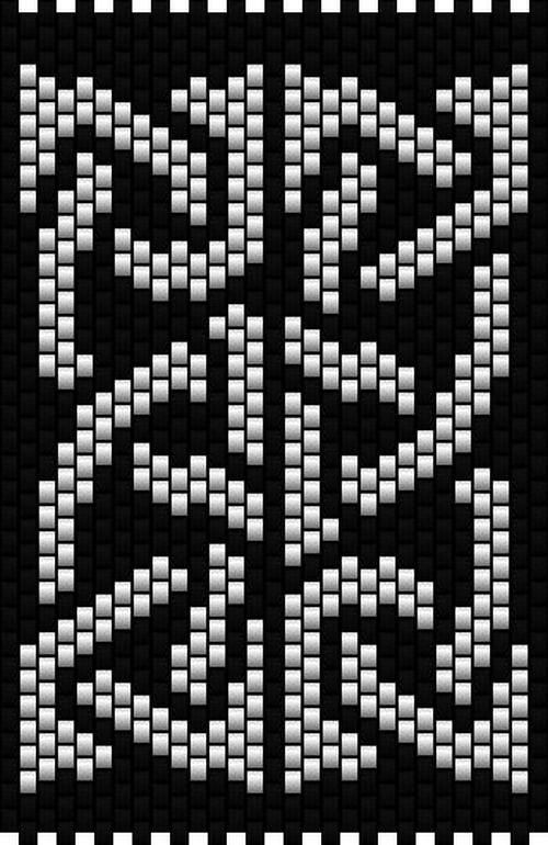 Celtic Knot 3. Peyote stitch