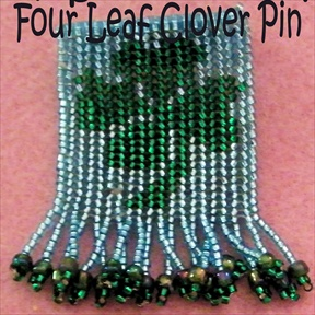 Four Leaf Clover Pin