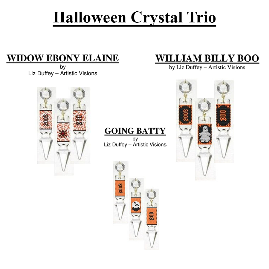 HALLOWEEN CRYSTAL TRIO