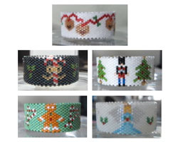 Christmas Tea Light Cover Collection 1