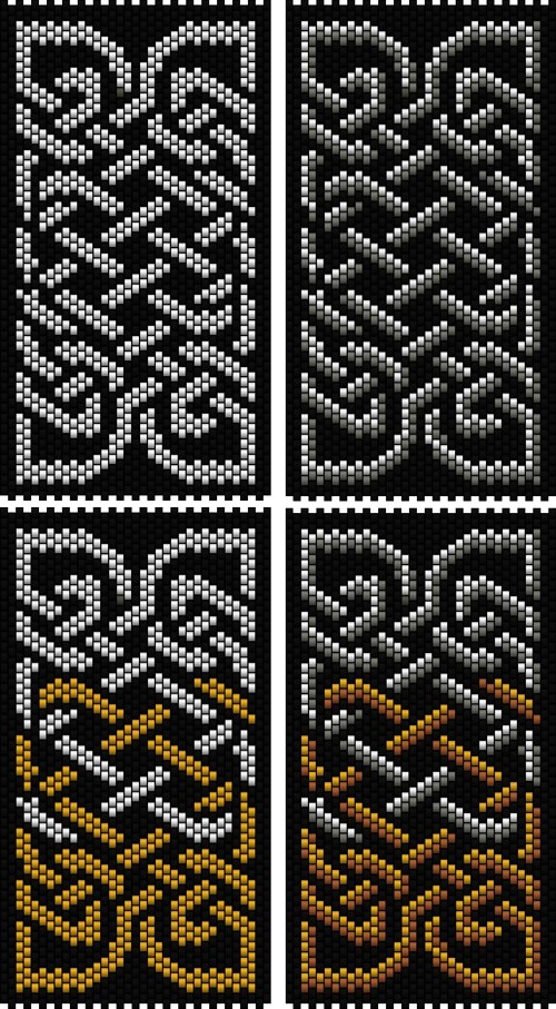 Celtic Knot 4 (peyote stitch)