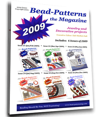 2009 Issues of Bead-Patterns the Magazine