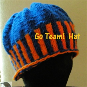 Go Team! Knitted Hat