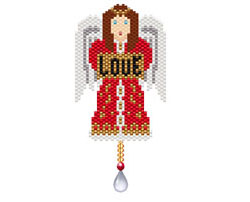 Angel of Love Ornament