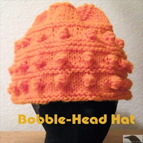 Bobble-Head Knit Hat