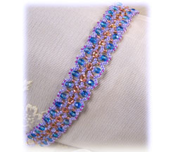 Sparkle Blue Fire Bracelet