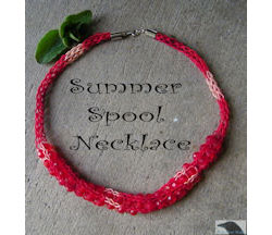 Summer Spool Necklace