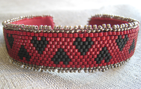 Alice's Red Queen Bangle