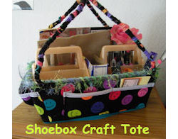 Shoebox Tote for Beading & Crafts
