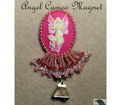Angel Cameo Magnet