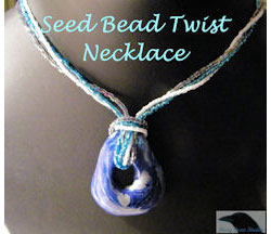 Seed Bead Twist Necklace