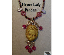 Flower Lady Pendant