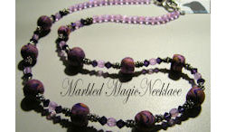 Marbled Magic Necklace