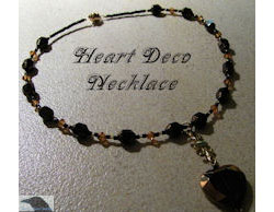Heart Deco Necklace