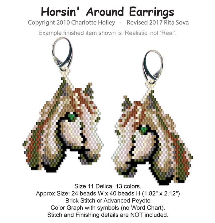 Horsin' Around Earrings