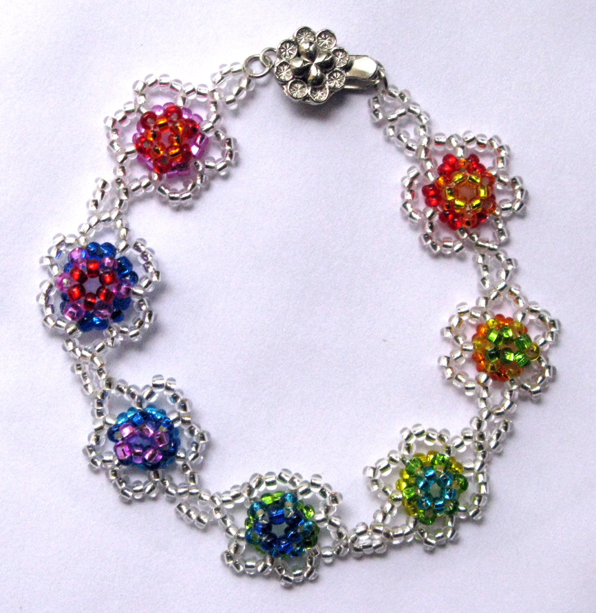 """Rainbow in The Lake"" Bracelet"
