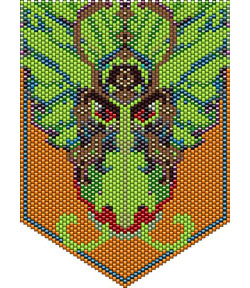 The Drastic Dragon Pendant or Tapestry