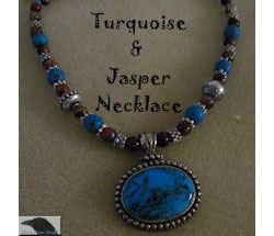 Turquoise and Jasper Necklace