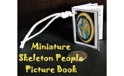 Make a Miniature Skeleton People Picture Book