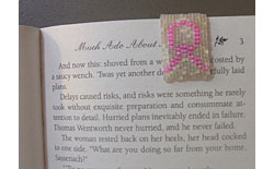Magnetic Breast Cancer Awareness Bookmark