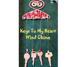 Keys to My Heart Wind Chime