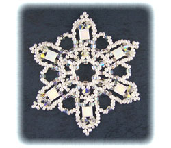 Snowflake #73 Ornament
