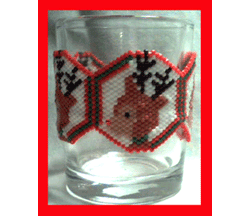 Deer Votive Cover