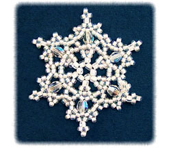 Snowflake #55 Ornament