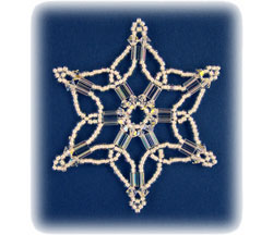 Snowflake #76 Ornament