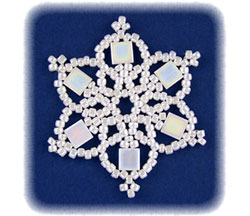 Snowflake #75 Ornament