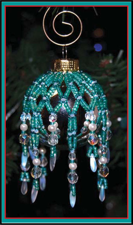 Mini Sparkling Ornament Cover