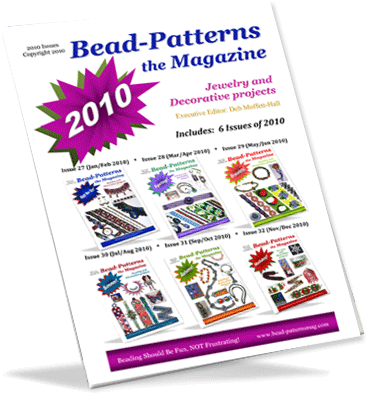2010 Issues of Bead-Patterns the Magazine