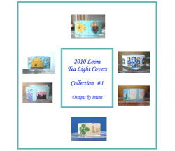 2010 Loom Tea Light Cover Collection 1