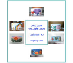 2010 Loom Tea Light Cover Collection 2